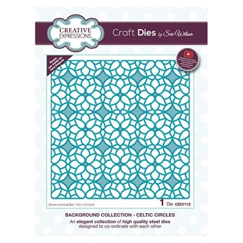 Creative Expressions CELTIC CIRCLES Sue Wilson Background Collection ced7112