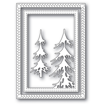 Memory Box PINE FOREST FRAME Craft Die 94036