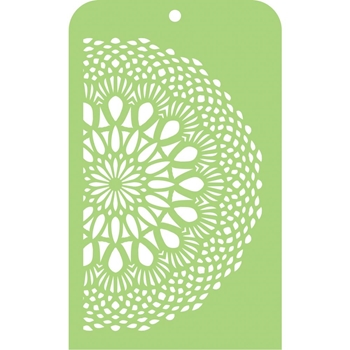 Kaisercraft LACE DOILY Mini Designer Stencil Template IT044