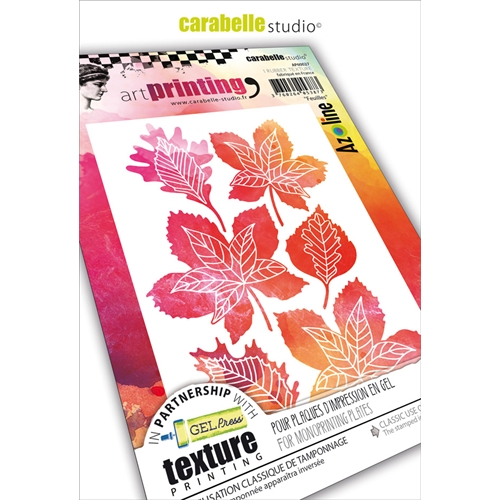 Carabelle Studio FEUILLES Art Printing Texture Plates ap60027 Preview Image