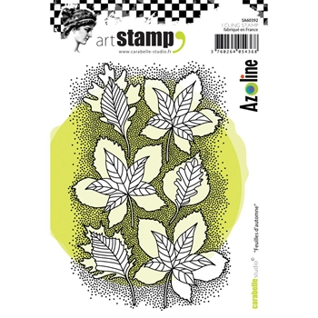 Carabelle Studio FEUILLES D'AUTOMNE Cling Stamp sa60392