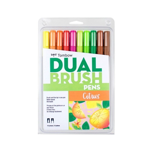 Tombow CITRUS Dual Brush Pens Limited Edition 56196 Preview Image