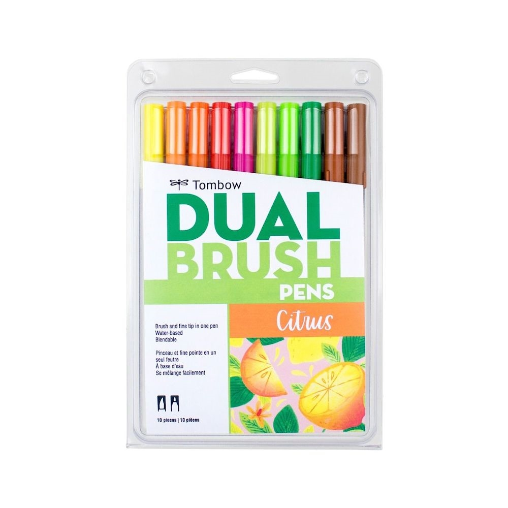 Tombow CITRUS Dual Brush Pens Limited Edition 56196 zoom image
