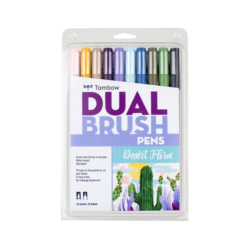 Tombow DESERT FLOWER Dual Brush Pens Limited Edition 56197 Preview Image
