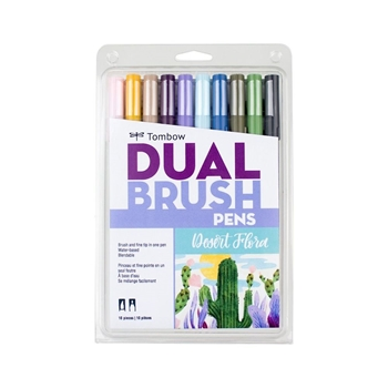 Tombow DESERT FLOWER Dual Brush Pens Limited Edition 56197