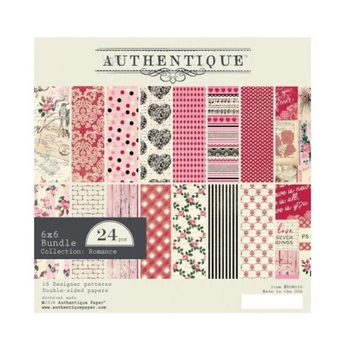 Authentique Romance 6x6 Paper Pack