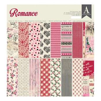 Authentique ROMANCE 12 x 12 Collection Kit rom011