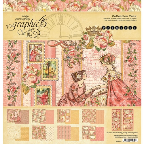 Graphic 45 PRINCESS 12 x 12 Collection Pack 4501800 Preview Image