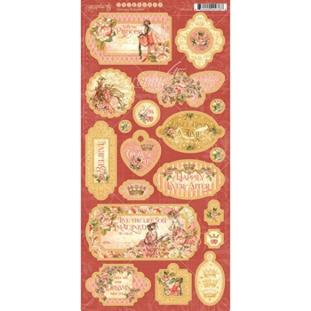 Graphic 45 PRINCESS Chipboard 4501803