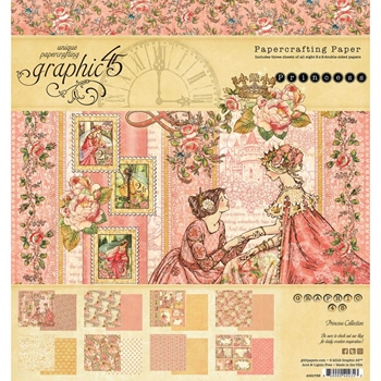 Graphic 45 PRINCESS 8 x 8 Paper Pad 4501799