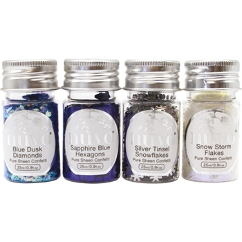 Tonic LET IT SNOW Nuvo Pure Sheen Confetti 288n