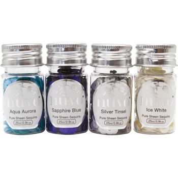 Tonic LET IT SNOW Nuvo Pure Sheen Sequins 282n