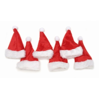 Darice MINI SANTA HATS Accessory 2510-409