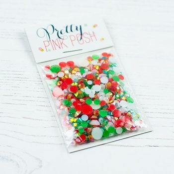Pretty Pink Posh HOLIDAY Jewels Mix