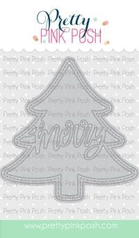 Pretty Pink Posh TREE SHAKER Dies