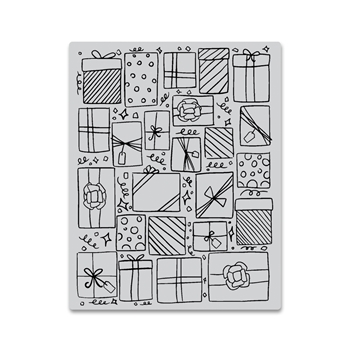 Hero Arts Cling Stamp PRESENTS BACKGROUND CG754