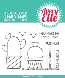 Avery Elle Clear Stamps STUCK ON YOU ST-18-42