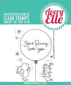 Avery Elle Clear Stamps SOME BUNNY ST-18-40