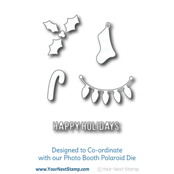 Your Next Die HOLIDAY PHOTO BOOTH ELEMENTS ynsd815