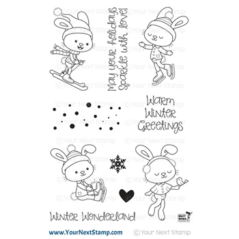 Your Next Stamp HOLIDAY SPARKLE Clear cyns679