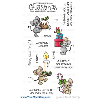 Your Next Stamp SWEET AND FUN HOLIDAY Clear cyns687