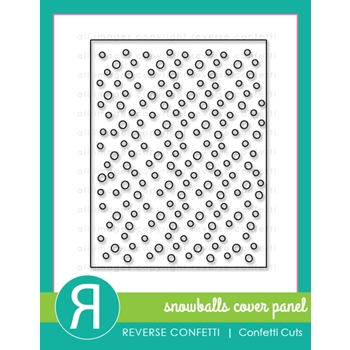 Reverse Confetti Cuts SNOWBALLS COVER PANEL Die