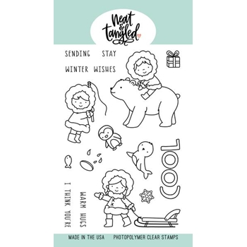 Neat and Tangled STAY COOL Clear Stamps NAT438