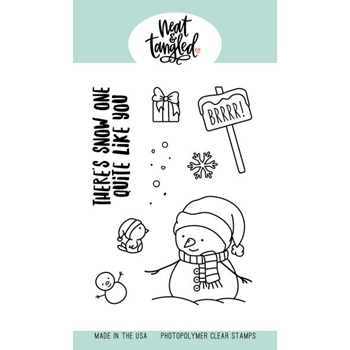 Neat and Tangled SNOW FUN Clear Stamps NAT441