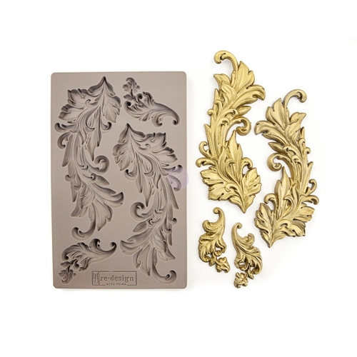 Prima Marketing BAROQUE SWIRLS Re-Design Decor Mould 635725 Preview Image