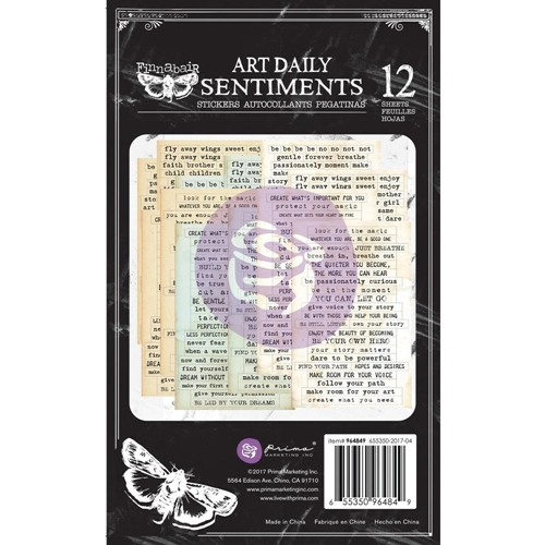 Prima Marketing SENTIMENTS Art Daily Planner Sticker Pad 964849 Preview Image