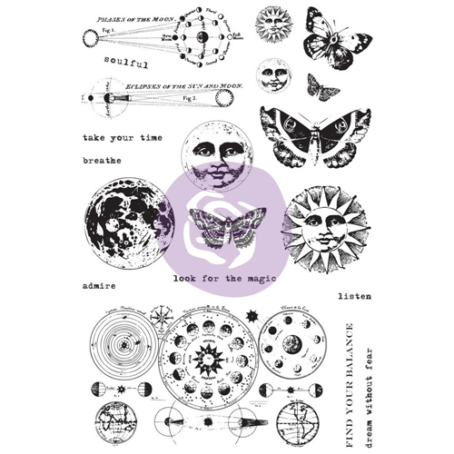 Prima Marketing DREAM WITHOUT FEAR Art Daily Planner Clear Stamps 964931 Preview Image