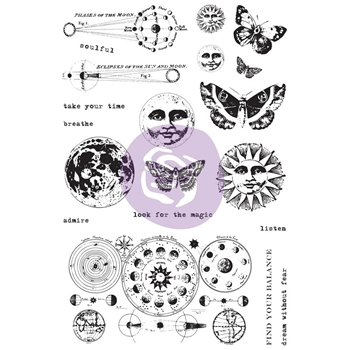 Prima Marketing DREAM WITHOUT FEAR Art Daily Planner Clear Stamps 964931
