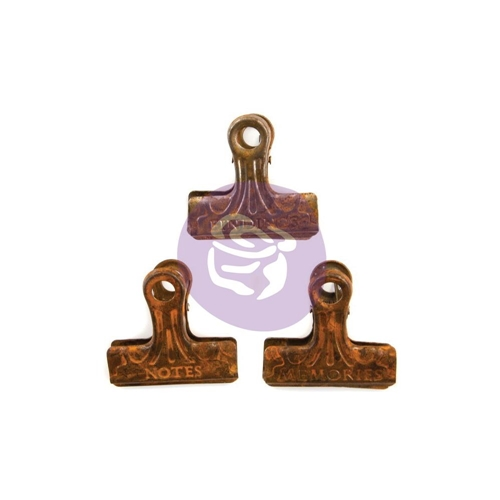 Prima Marketing RUSTY METAL CLIPS Art Daily Planner 964825 Preview Image
