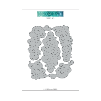 Concord & 9th SWIRLS Die Set 10496