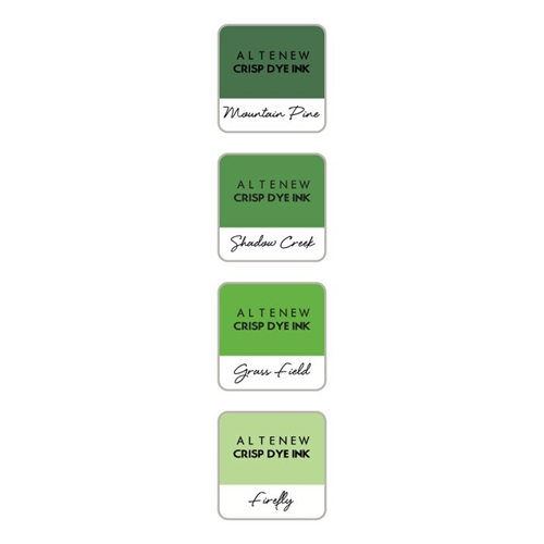 Altenew GREEN VALLEY Mini Cube Crisp Dye Ink Pad Set ALT2736 Preview Image