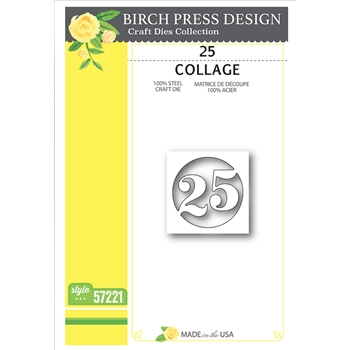 Birch Press Design 25 COLLAGE Craft Die 57221