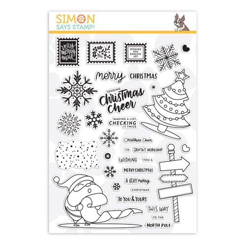 Simon Says Clear Stamps CHRISTMAS CHEER sss101895 Preview Image