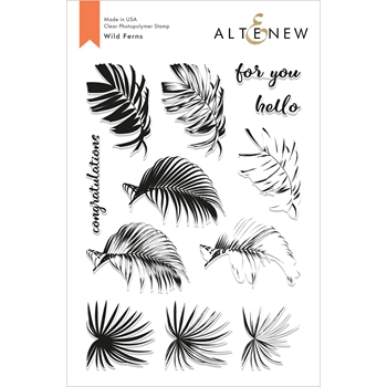 Altenew WILD FERNS Clear Stamps ALT2824