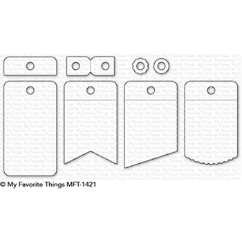 My Favorite Things FOLD-UP TAGS Die-Namics MFT1421