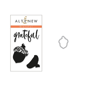 Altenew GRATEFUL Clear Stamp and Die Set ALT2813