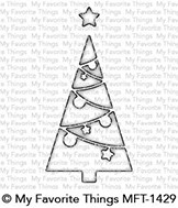 My Favorite Things CHRISTMAS TREE WINDOW Die-Namics MFT1429