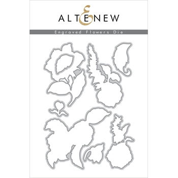 Altenew ENGRAVED FLOWERS Dies ALT2811