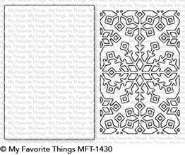 My Favorite Things SNOWFLAKE WINDOW Die-Namics MFT1430