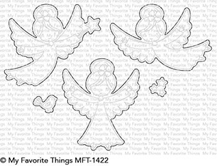 My Favorite Things LITTLE ANGELS Die-Namics MFT1422