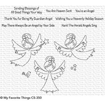 My Favorite Things LITTLE ANGELS Clear Stamps CS350