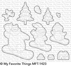 My Favorite Things READY SET SNOW Die-Namics MFT1423