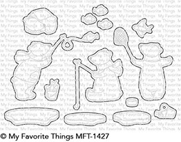 My Favorite Things BEARY BEST FRIENDS Die-Namics MFT1427