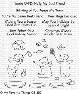 My Favorite Things BEARY BEST FRIENDS Clear Stamps CS357