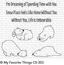 My Favorite Things UNBEARABLY CUTE Clear Stamps CS353