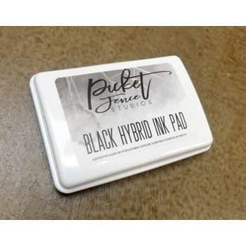 Picket Fence Studios INTENSE BLACK Hybrid Ink Pad 98946